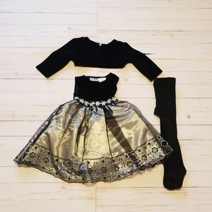 Blueberi Boulevard size 18 month dress outfit. (O3
